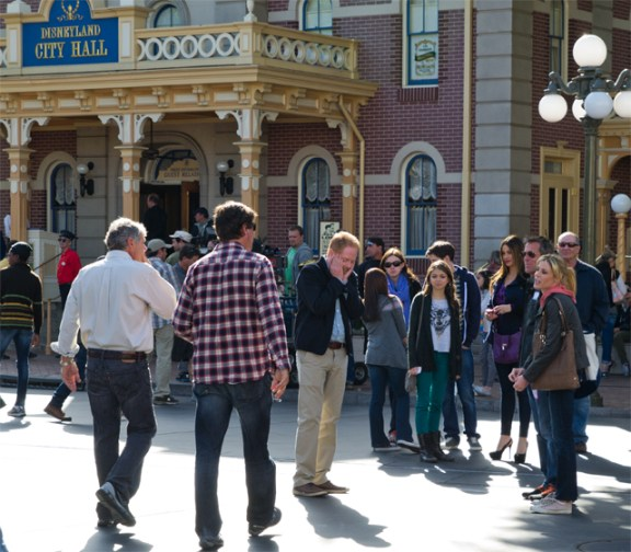 Modern Family Disneyland Filming