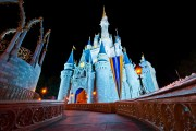 Cinderella Castle Ultra Wide Angle