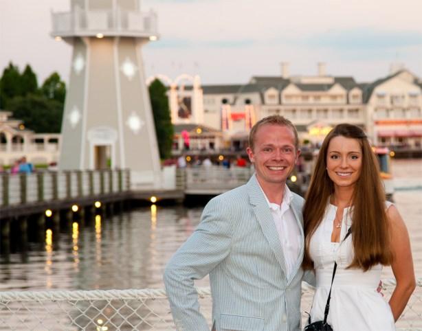 Sarah & Tom Bricker - Disney's Beach Club Resort
