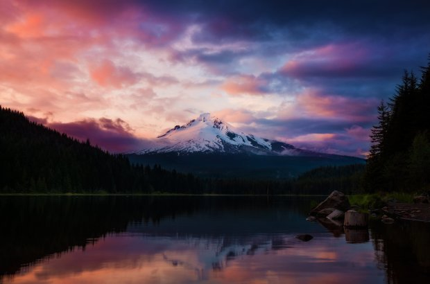 mount-hood-trillium-lake-sunset-Recovered copy