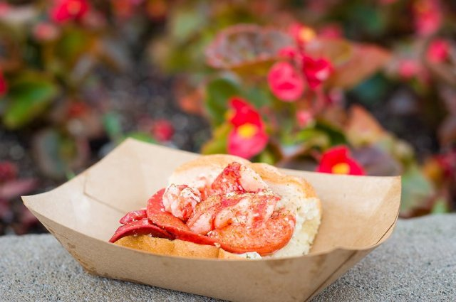 Lobster Roll - the BEST way to use snack credits when on the Disney Dining Plan