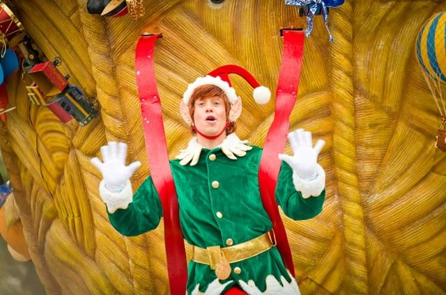 Christmas Cavalcade Male Elf