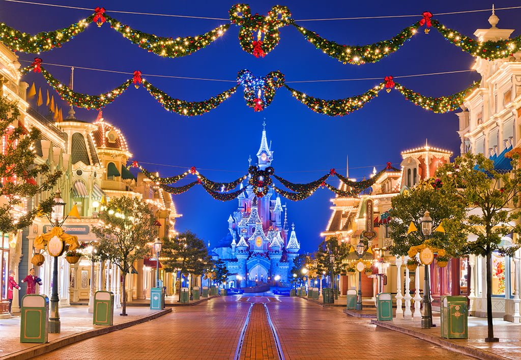 Disneyland Paris disponibiliza trilha sonora natalina dos parques