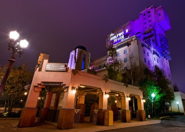Tower of Terror Side