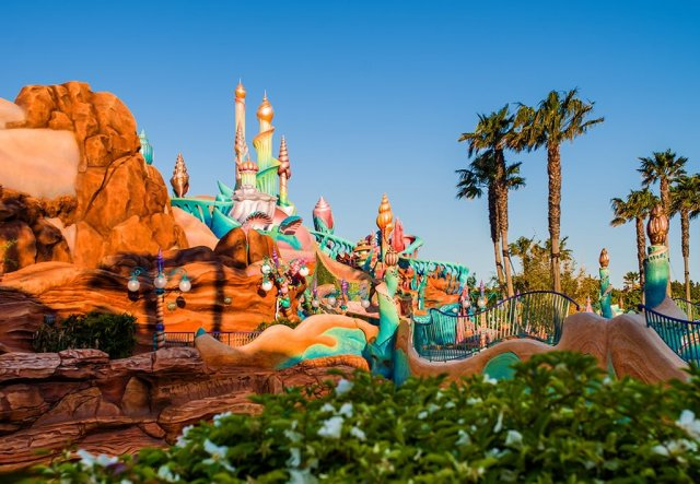 mermaid-lagoon-morning-disneysea