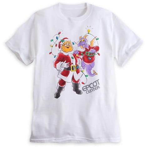 dreamfinder-figment-christmas-epcot-center-shirt