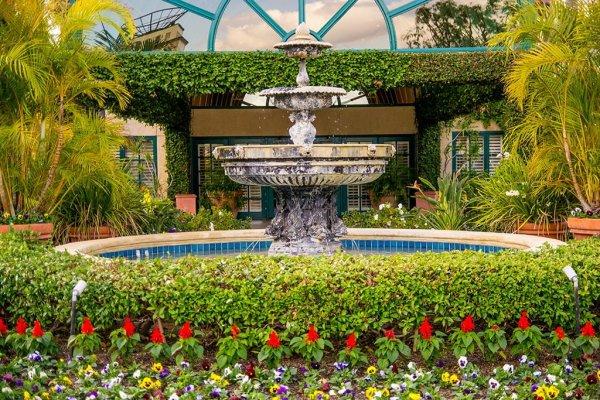 candy-cane-inn-disneyland-good-neighbor-hotel-garden