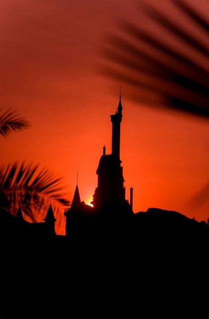 beast-castle-sunset-portrait