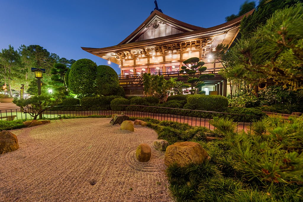 Teppan Edo Review Disney Tourist Blog - Epcot table service