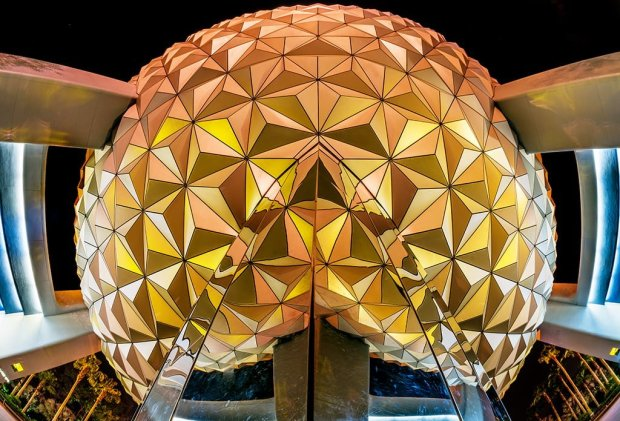 spaceship-earth-underside-fisheye