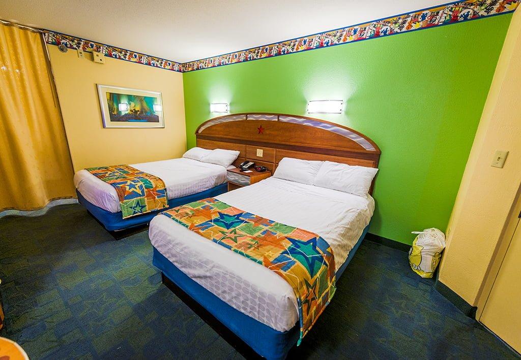 Hotel Room Sizes At Disney World