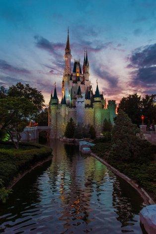 cinderella-castle-dusk-portrait