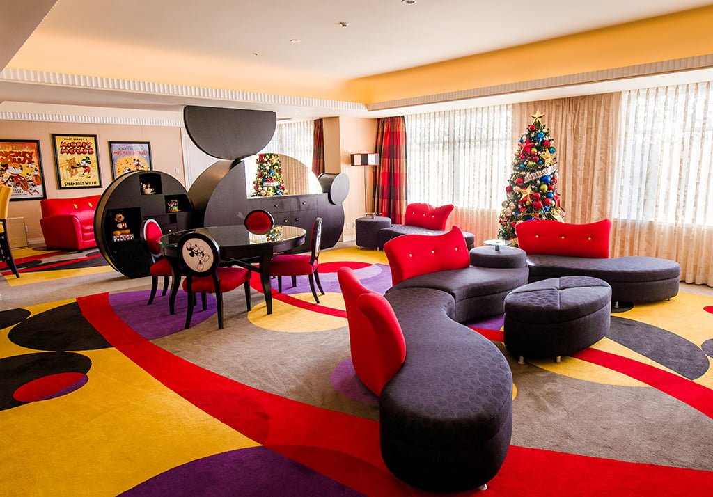Magnificent Inside Mickeys Penthouse Suite Disney Tourist Blog Interior Design Ideas Inesswwsoteloinfo