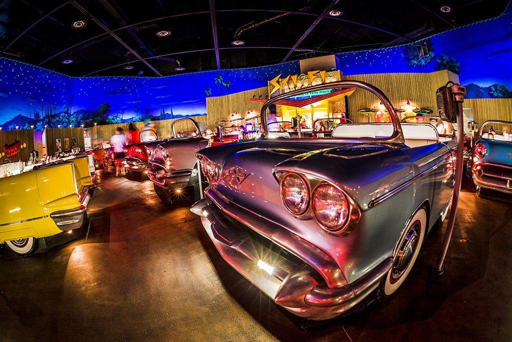 Sci Fi Dine In Theater Restaurant Review Disney Tourist Blog