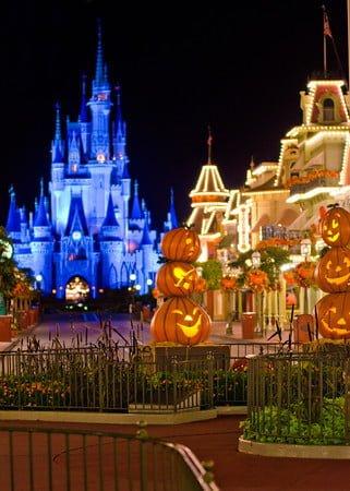 disney world halloween main street - When Does Disneyland Decorate For Halloween