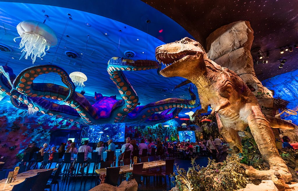 t rex cafe review disney tourist blog