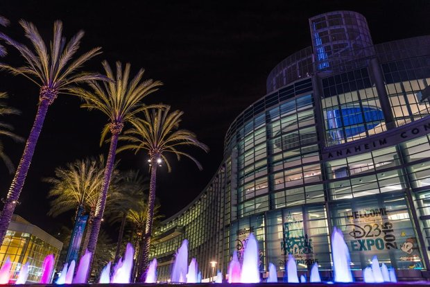 anaheim-convention-center-d23-expo-night