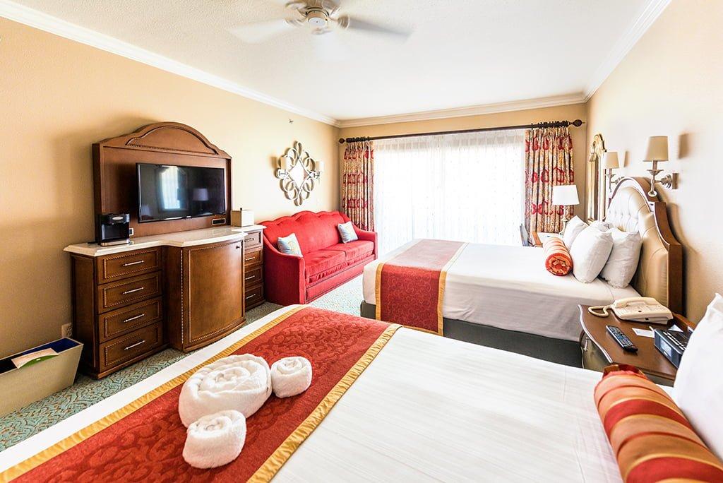 Phenomenal Hotel Room Sizes At Disney World Disney Tourist Blog Download Free Architecture Designs Rallybritishbridgeorg