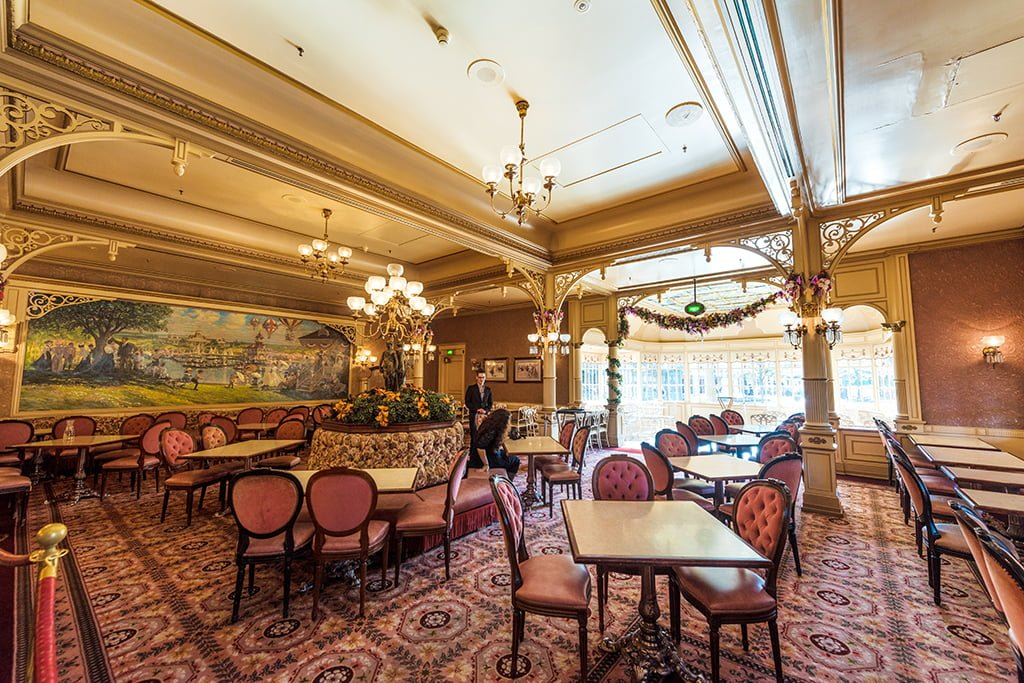 Menu Restaurant Plaza Gardens Restaurant Disneyland Paris