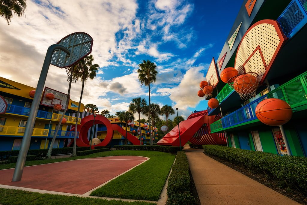 "b6b63e9a086e Disney s All Star Sports Resort is a value hotel in Walt Disney World that  is one of three hotels in the ""All Star"" lineup. In this hotel review"