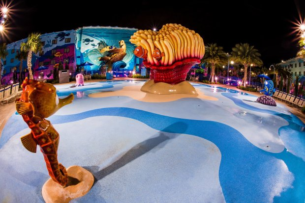 art-animation-finding-nemo-pool-disney-world-night copy