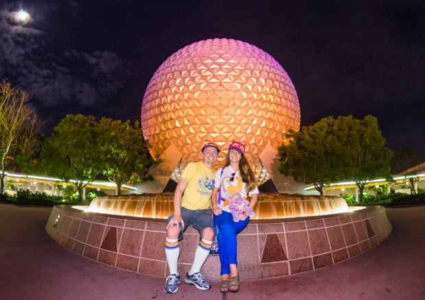 sarah-tom-bricker-epcot-30th-anniversary-spaceship-earth