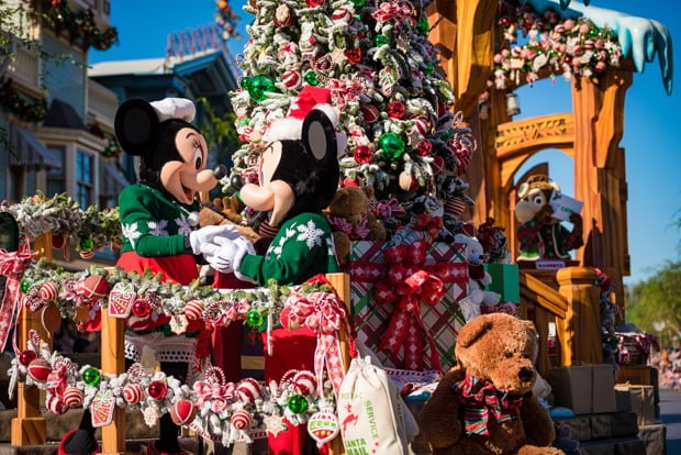Christmas Day Parade.2019 Christmas Day Parade Filming At Disney World