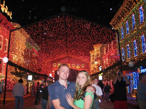 sarah-tom-bricker-osborne-lights-post-engagement-disney-world-christmas