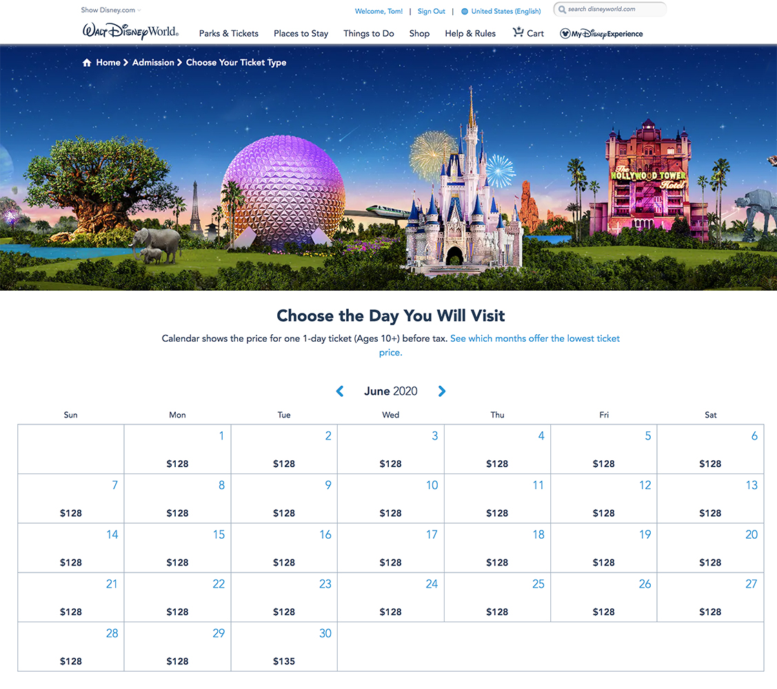 Best Time To Go To Disney World 2020.Summer Is Not Peak Season At Disney World Disney Tourist Blog