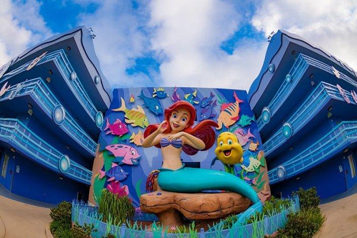 Little mermaid room review disney tourist blog for Little hotels of the world