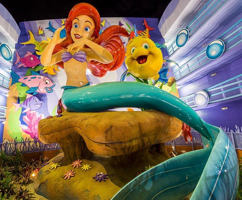 Little Mermaid Room Review - Disney Tourist Blog