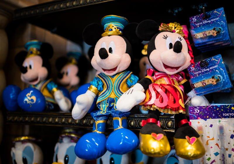 Tokyo Disneyland 35th Anniversary Merchandise - Disney Tourist Blog