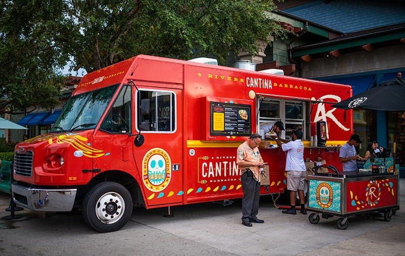 4 Rivers Cantina Food Truck Review Disney Tourist Blog