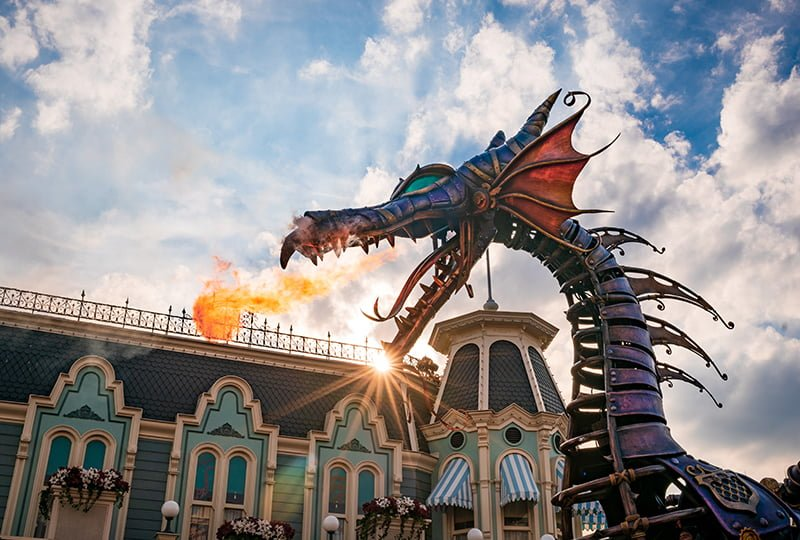 Stroll into a wonderland at Disneyland Paris
