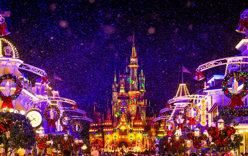 Disney World At Christmas 2020 December 2020 at Disney World: Crowd Calendar & Info   Disney