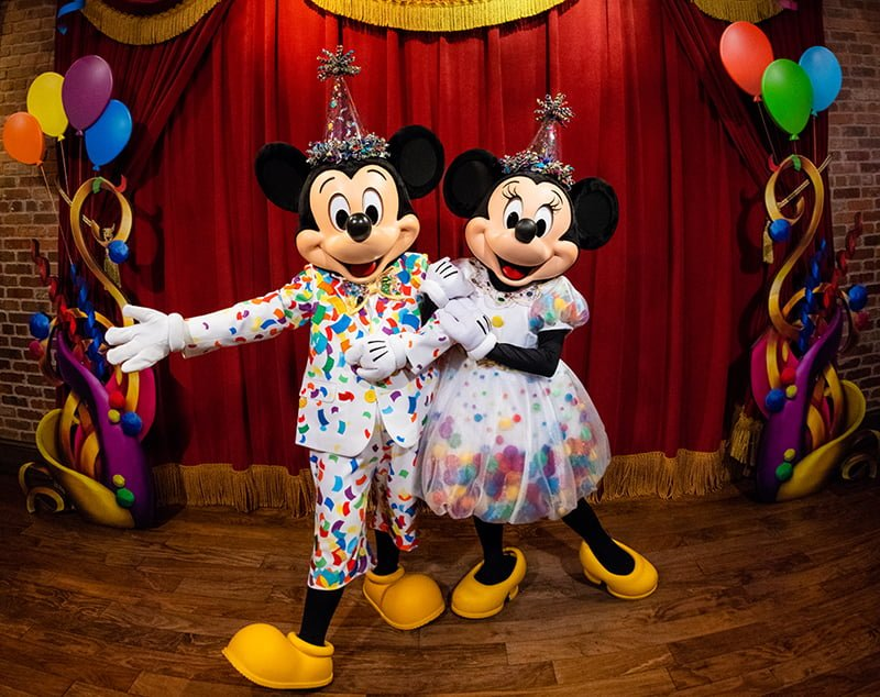 e70b8f13 In honor of Minnie and Mickey Mouse's 90th anniversary, Walt Disney World  is celebrating with new costumes for the iconic duo and Move It! Shake It!  ...