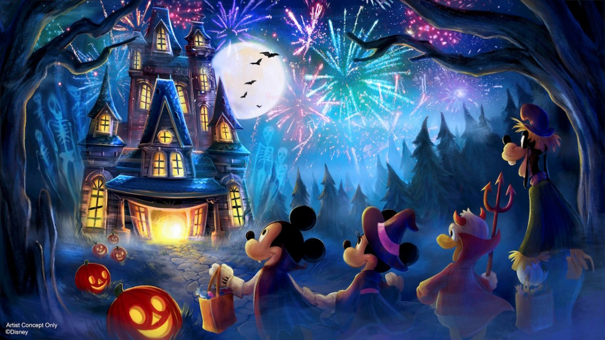 "638842c5d3f7 As for the enhancements to Mickey's Not So Scary Halloween Party, the first  is a replacement for Happy HalloWishes: the new ""Disney's Not-So-Spooky ..."