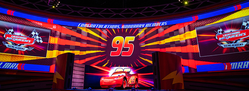 f23842e87c95 Lightning McQueen s Racing Academy has officially opened at Hollywood  Studios