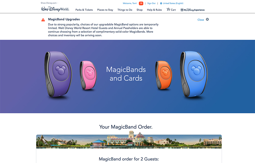 MagicBand Upgrades Now Available (Back in Stock: Star Wars Land