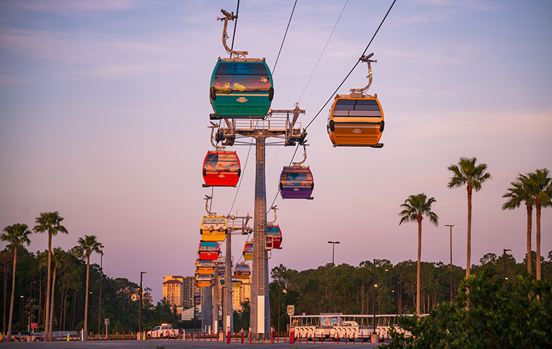 Skyliner Gondola Opening Date Announced! - Disney Tourist Blog