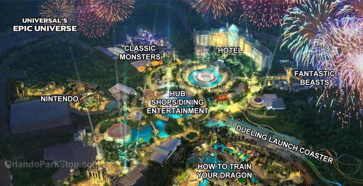 Universal Restarts Epic Universe Construction Disney Tourist Blog