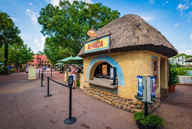 Africa Review Menu 2019 Epcot Food Wine Festival