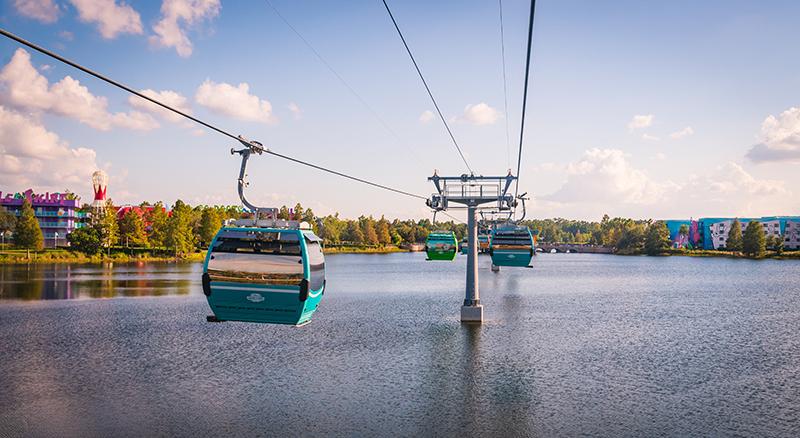walt disney world skyliner gondolas