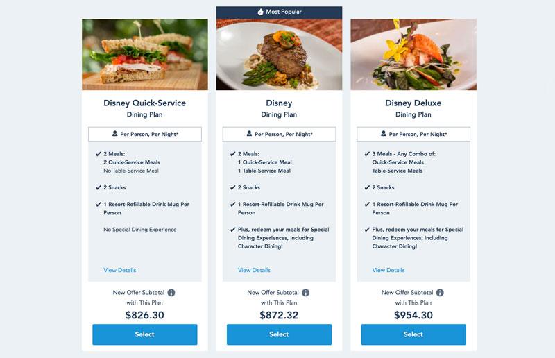 New 2020 Disney Dining Plan Plus Coming Soon Disney Tourist Blog