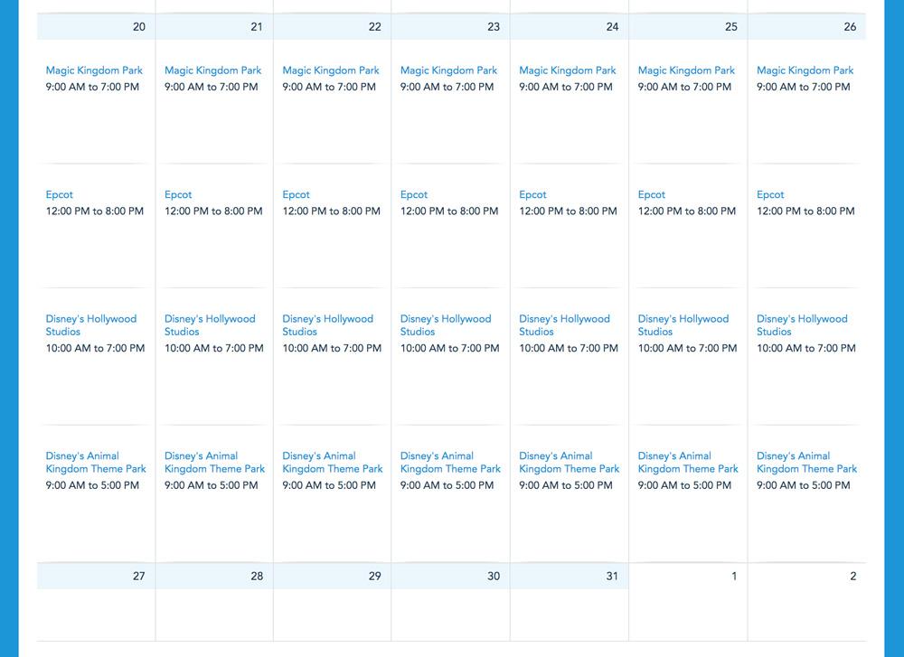 Disney Num Nons Christmas 2020 200+ Park Hours Added to Disney World's Calendar Through Christmas