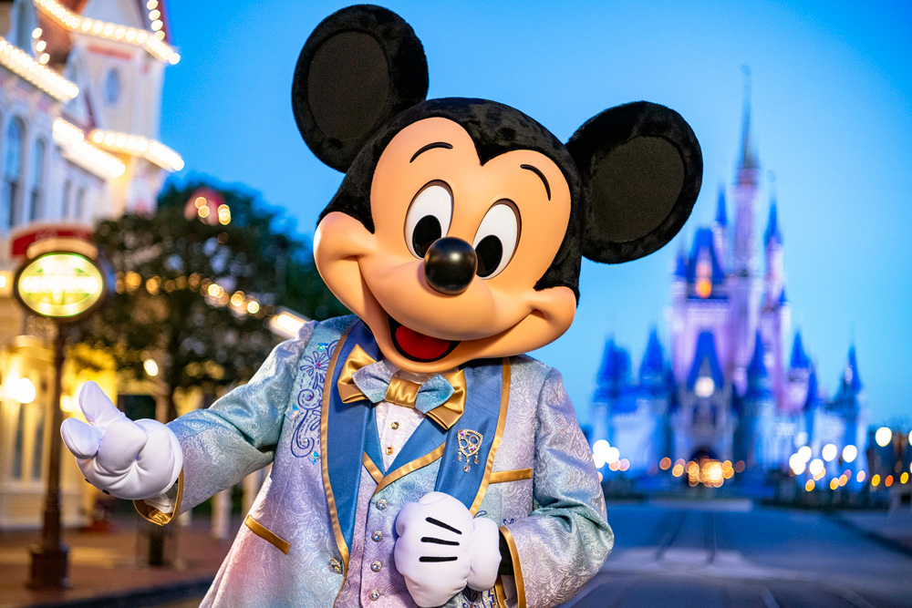 Disney World 50th Anniversary: New Castle Decor, Character Costumes,  Projection Effects - Disney Tourist Blog