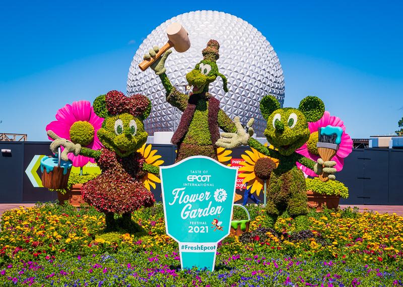 Disney Christmas 2021 Epcot 2021 Epcot Flower Garden Festival Guide Disney Tourist Blog