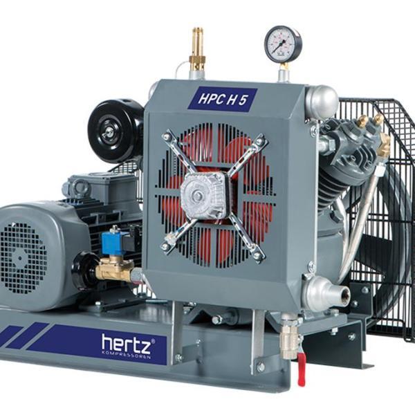 Compresor de pistón de alta presión HPC H5