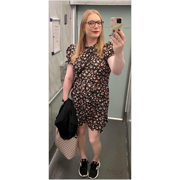 Ny dag och ny klänning
