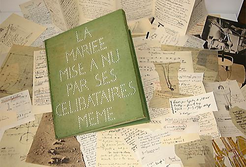 Marcel Duchamp, La Boîte verte (La Mariée mise à nu par ses célibataires, même) 1934
